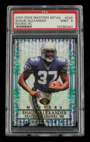 Shaun Alexander 2000 Collector's Edge Masters Retail #249 (PSA 9) at PristineAuction.com