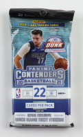 2020-21 Panini Contenders Basketball Jumbo Value Pack with (22) Cards at PristineAuction.com