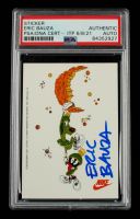 Eric Bauza Signed 1993 Nike Marvin The Martian Sticker (PSA Encapsulated) at PristineAuction.com
