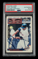 Tony Gwynn Signed 1995 Score #561 HIT (PSA Encapsulated) at PristineAuction.com