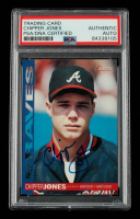 Chipper Jones Signed 1994 O-Pee-Chee #57 (PSA Encapsulated) at PristineAuction.com