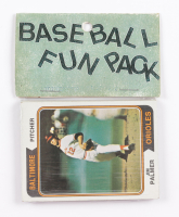 1974 Topps Baseball Card Fun Pack with (10) Cards at PristineAuction.com