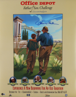 """Johnny Miller Signed """"Office Depot Father Son Challenge"""" 22x28 Poster (Beckett COA) at PristineAuction.com"""