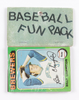 1975 Topps Baseball Card Fun Pack with (10) Cards at PristineAuction.com