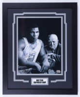 Mike Tyson Signed 18x22 Custom Framed Photo (Fiterman Hologram) (See Description) at PristineAuction.com