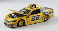 Joey Logano Signed #22 Pennzoil 2019 Mustang 1:24 Die-Cast Car (RCCA COA) at PristineAuction.com