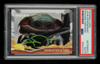 John Rosengrant Signed 2020 Star Wars The Mandalorian Journey of the Child #25 Blasting off with the Phoenix (PSA Encapsulated) at PristineAuction.com