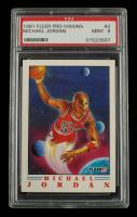 Michael Jordan 1991-92 Fleer Pro-Visions #2 (PSA 9) at PristineAuction.com