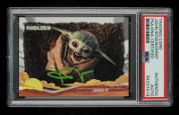 John Rosengrant Signed 2020 Star Wars The Mandalorian Journey of the Child #24 Looking Up (PSA Encapsulated) at PristineAuction.com