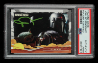 John Rosengrant Signed 2020 Star Wars The Mandalorian Journey of the Child #6 It's Not a Toy (PSA Encapsulated) at PristineAuction.com