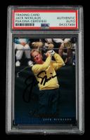 Jack Nicklaus Signed 2001 Upper Deck #53 (PSA Encapsulated) at PristineAuction.com