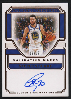 Stephen Curry 2019-20 Panini National Treasures Validating Marks Autographs Bronze #3 - #02/15 at PristineAuction.com
