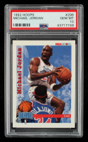 Michael Jordan 1992-93 Hoops #298 All-Star (PSA 10) at PristineAuction.com