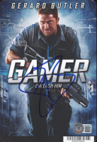 """Gerard Butler Signed """"Gamer"""" 5.5x8 Photo (Beckett COA) at PristineAuction.com"""