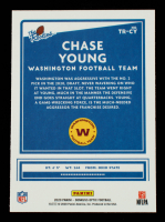 Chase Young 2020 Donruss Optic The Rookies #20 at PristineAuction.com