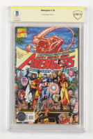 """Stan Lee Signed 1998 """"The Avengers"""" #10 Marvel Comic Book (BGS Encapsulated & Stan Lee Hologram) at PristineAuction.com"""