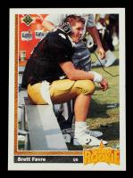 Brett Favre 1991 Upper Deck #13 RC at PristineAuction.com