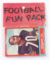 1963 Topps Football Card Fun Pack with (10) Cards at PristineAuction.com