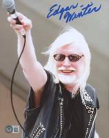 Edgar Winter Signed 8x10 Photo (Beckett COA) at PristineAuction.com