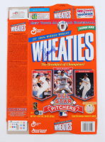 """John Smoltz Signed """"All Star Pitchers"""" Wheaties Cereal Box (Beckett COA) at PristineAuction.com"""