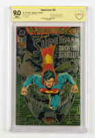 """Jerry Siegel Signed LE 1993 """"Superman"""" Issue #82 Chromium Variant Cover D.C. Comic Book (CBCS Encapsulated - Graded 9.0) at PristineAuction.com"""