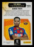 Ansu Fati 2020-21 Top Mega Teenager MGK #10 at PristineAuction.com