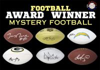 Schwartz Sports Football Award Winner Signed Full-Size Football Mystery Box - Series 4 (Limited to 150) at PristineAuction.com