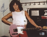 Billy Squier Signed 8x10 Photo (Beckett COA) at PristineAuction.com