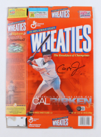 Cal Ripken Signed Wheaties Cereal Box (Beckett COA) at PristineAuction.com