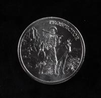 1 Oz .999 Fine Silver Prospector Bullion Round at PristineAuction.com