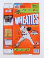 """Chris Carpenter Signed Wheaties Cereal Box Inscribed """"NL Cy 05"""" (Beckett COA) at PristineAuction.com"""
