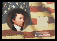 James Monroe 2020 A Word From POTUS / Presidential Archive Relics #PAJM5 at PristineAuction.com