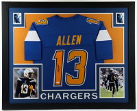 Keenan Allen Signed 35x43 Custom Framed Jersey Display (JSA Hologram) at PristineAuction.com