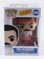 "Larry Thomas Signed ""Seinfeld"" #1086 Yev Kassem Funko Pop! Vinyl Figure Inscribed ""No Soup For You!"" & ""Soup Nazi"" (JSA COA) (See Description) at PristineAuction.com"