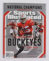 Ezekiel Elliott & Cardale Jones Signed Ohio State Buckeyes Sports Illustrated Magazine (Beckett COA) at PristineAuction.com