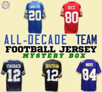 Schwartz Sports All-Decade Team Signed Football Jersey Mystery Box Series 1 (Limited to 100) at PristineAuction.com
