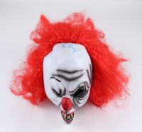 """Tim Curry Signed """"IT"""" Pennywise Mask (PSA COA) (See Description) at PristineAuction.com"""