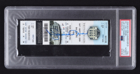 Mariano Rivera Signed Yankees Ticket (PSA Encapsulated) (See Description) at PristineAuction.com