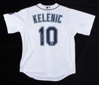 Jarred Kelenic Signed Mariners Jersey (Beckett Hologram) at PristineAuction.com