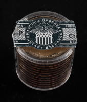 Ballistic Roll of (12) Uncirculated James Buchanan Presidential Dollars (See Description) at PristineAuction.com