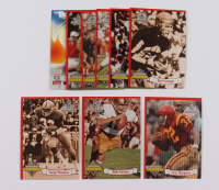 1994 Ted Williams Path to Greatness Complete Set of (9) Cards with #PG1 Tony Dorsett, #PG3 Bob Griese, #PG7 O.J. Simpson at PristineAuction.com