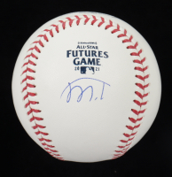 Marco Luciano Signed 2021 All-Star Futures Game Logo OML Baseball (JSA COA) at PristineAuction.com