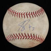 Adbert Alzolay Signed Game-Used Pacific Coast League Baseball (JSA COA) at PristineAuction.com