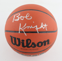 Bob Knight Signed NCAA Basketball (Schwartz COA) at PristineAuction.com