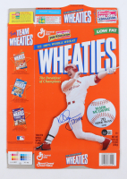"""Mark McGwire Signed Wheaties Cereal Box Inscribed """"583 HR's"""" (Beckett COA) at PristineAuction.com"""