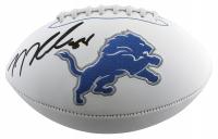 T. J. Hockenson Signed Lions Logo Football (Beckett Hologram) at PristineAuction.com