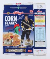 Mario Lemieux Signed 1991 Kellogg's Corn Flakes Box (Beckett COA) at PristineAuction.com