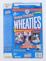 Chipper Jones Signed Honey Frosted Wheaties Cereal Box (Beckett COA) at PristineAuction.com