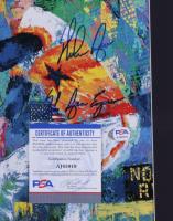 "Nolan Ryan Signed Astros 13x19 Custom Framed Leroy Neiman Print Inscribed ""The Ryan Express"" (PSA COA) (See Description) at PristineAuction.com"