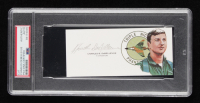 Charles DeBellevue Signed 2.25x5 Cut (PSA Encapsulated) at PristineAuction.com